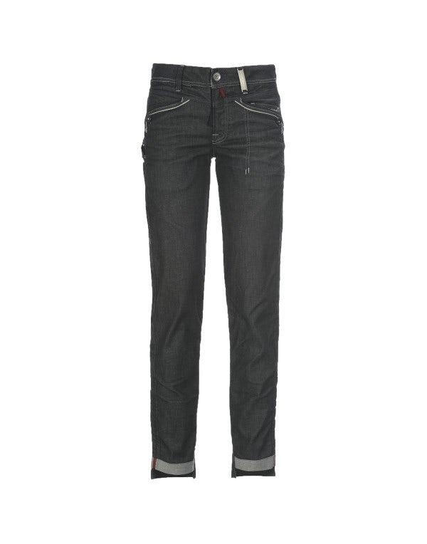 CALL-ME: Jeans aderenti con lavaggio