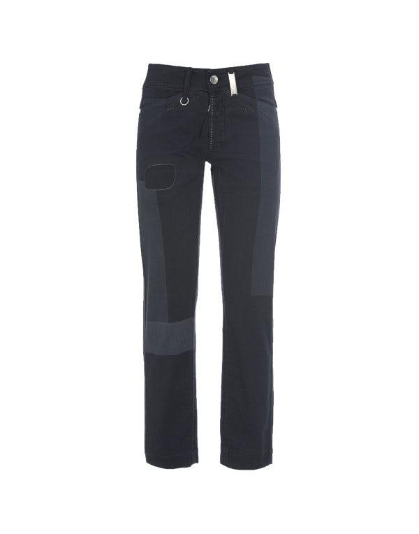 CAPITAL: Pantaloni blu con trattamento