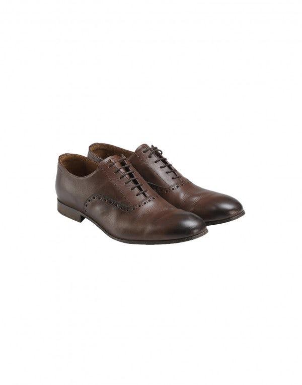 GIG: Scarpe stringate marroni