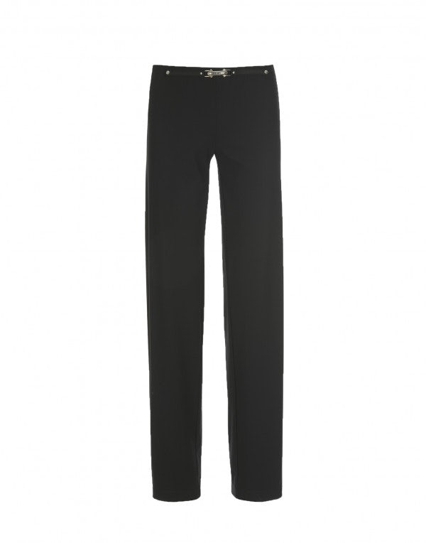PROCEED: Pantaloni dalla linea dritta, neri