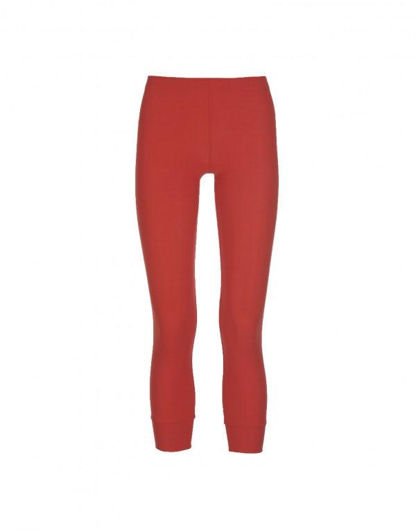 HALT: Leggings basici, rosso bandiera