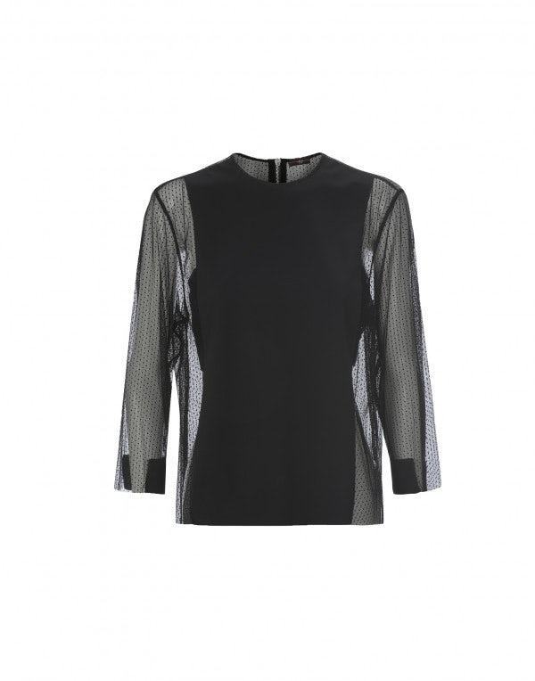 OCTAYE: Blusa in Sensitive® con rete tecnica
