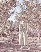 BELLBOY: Pantaloni ampi alla caviglia color crema