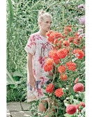 ELYSIUM: Abito ampio con stampa floreale