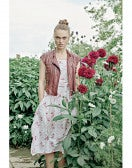 FIESTA: Abito floreale con cintura