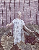 CALIPSO: Abito dritto con stampa floreale