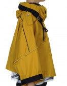 """BLUSTER: Giacca """"Fisherman's"""" corta con cappuccio color giallo"""