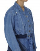 JUST-SO: Bluson corto in chambray