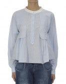ETHOS: Camicia con doppia rigatura