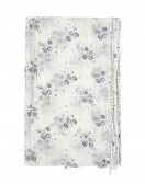 CHALET: Sciarpa in voile con stampa floreale Calypso, blu
