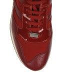 FRANTIC: Sneakers in vernice rossa