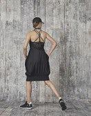 SEDUCTION: Abito a palloncino con scollatura posteriore