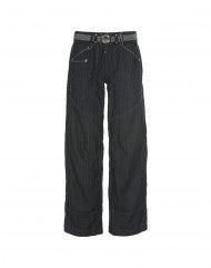 "GO-AHEAD: Jeans gessati blu ""laser shade"""