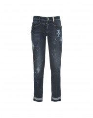 """CALL-ME: Jeans aderenti con trattamento """"Skylight"""""""