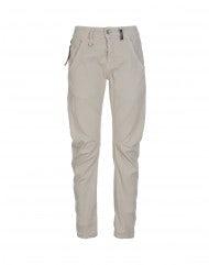 HAVOC: Pantaloni con cucitura curva beige