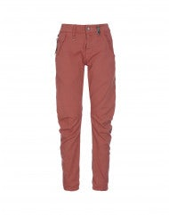 HAVOC: Pantaloni con cucitura curva terracotta