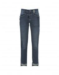 CALL-ME: Jeans aderenti gessati