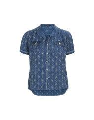 "PERT: Camicia con stampa ""edelweiss"""