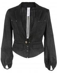 Giacca in lana e cotone