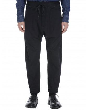 RAVEN: Pantaloni jogger blu navy