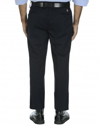 HAUTEUR: Man's pleated front trousers