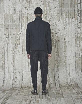 DREW: Giacca nera in gabardina tecnico