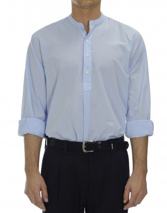 GALLANT: 1/2 length button placket shirt