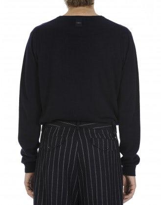 BLITZ: Maglione in cashmere navy