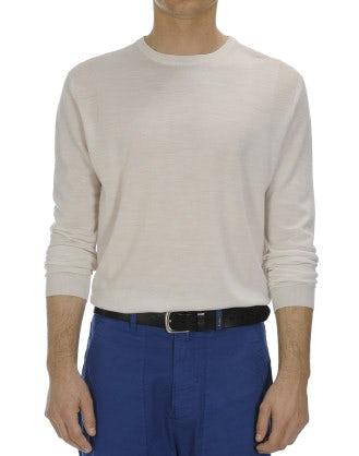 OBSERVE: Ultra-light wool ivory sweater