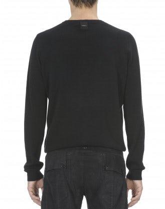 HAMISH: Maglione in cashmere nero