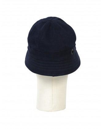 ANGLER: Cappello da pescatore in twill blu navy