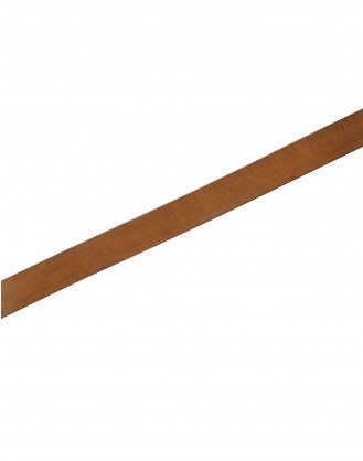 ROUTINE: Tan leather belt