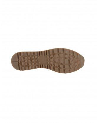 ERIK: Sneakers in pelle blu
