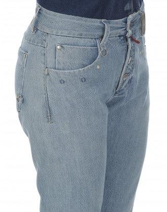 NAIF: Double bleach straight leg jeans