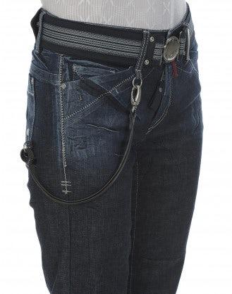 CADET: Jeans scuri a gamba dritta