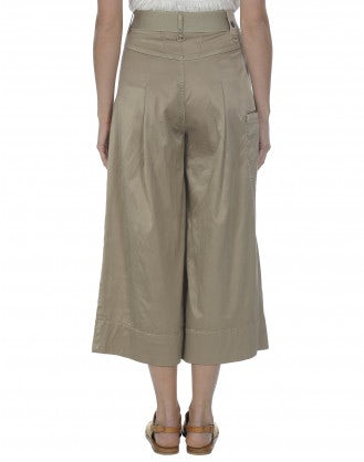NAVAGAR: Culottes color biscotto