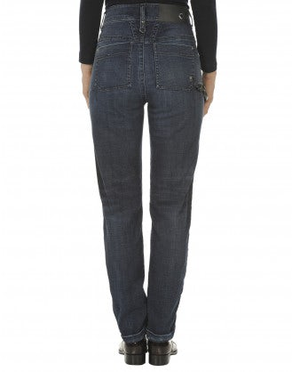 CADET: Jeans dritti con patchwork