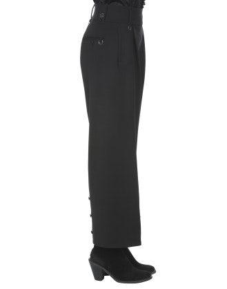 CORSAIR: Pantaloni neri alla caviglia