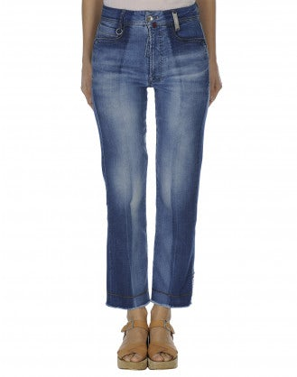 UP-START: Sun bleached & repaired jeans