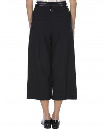 JUSTIFY: Pantaloni ampi con chiusura laterale