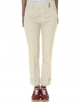 CHROMA: Pantaloni con apertura laterale