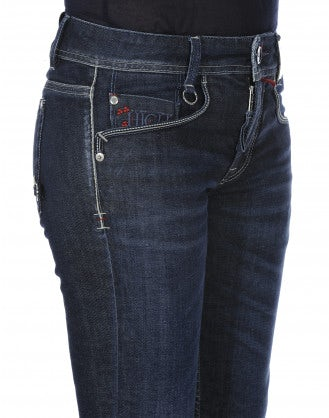ASBY: Jeans stretch a gamba dritta