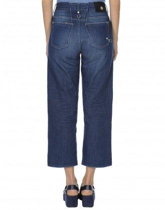 INTRIGUE: Jeans comodi e ampi alla caviglia