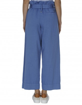 IN DEPTH: Sky wrap-over & tie belt pant