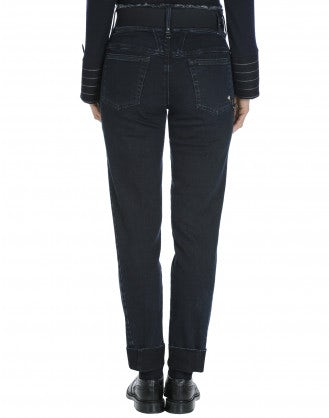 "VERVE: Pantaloni in denim ""clean rinse"""