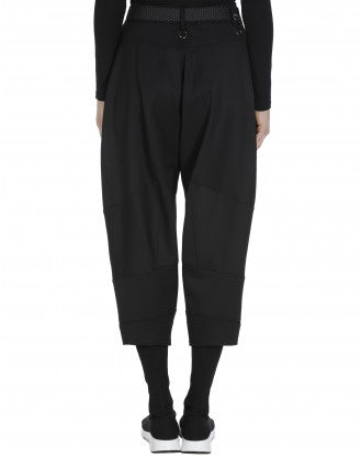 BRIGAND: Cropped black pants