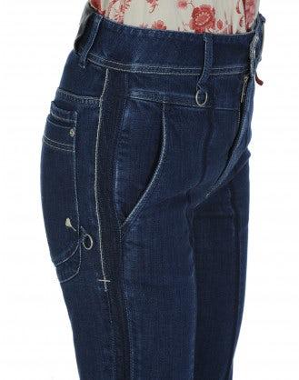 CONCISE: Mid blue slim leg jeans
