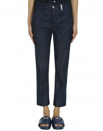PROVISO: Fat front denim pants