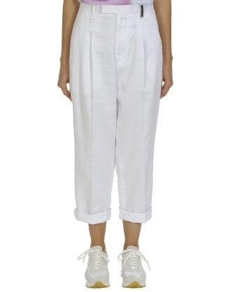 WANDERER: White cavalry pants