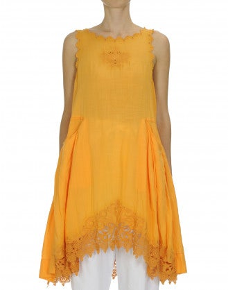WALTZ: Marigold sleeveless dress